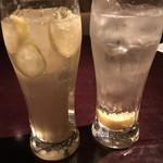 なっぱSUN - 蜂蜜檸檬ハイボールと檸檬ハイボール
