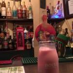 Irish Bar Craic - ノンアルコールカクテル(ストロベリーミルク)