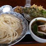 手打ちうどんほり川 - 肉汁つけうどん(700円)_2011-05-18
