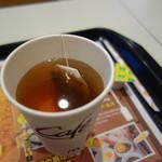 マクドナルド - 紅茶をセレクト