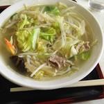 中華十勝 - 料理写真:タンメン