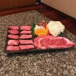 焼肉 金牛 - 姫栄号