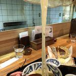 石川うどん - 長~い麺