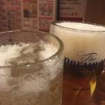 満マル - 乾杯! 生とハイボール