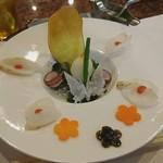 78899237 - タコのカルパッチョ(前菜)