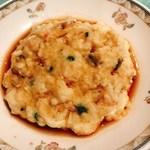 花梨 - 海老すり身入り豆腐の蒸し物