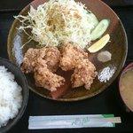 味民 - 唐揚定食550円