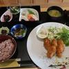 壱歩 - 料理写真:広島大粒カキフライ膳