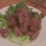 Bistro ひつじや - シルクロードの肉炒め910円