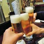 アジト - 仕事納めの乾杯!