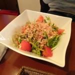 78903521 - ツナと水菜のはりはりサラダ