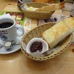 コメダ珈琲店 - 料理写真:ブレンド+モーニングC