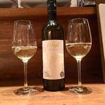 イタリアン アンド ワイン チャコール - いただいたボトル白2本目