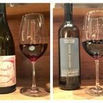 イタリアン アンド ワイン チャコール - 自然派グラス赤