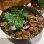 78904514 - 「鶏挽肉と鶏軟骨のキーマカレー山椒風味」