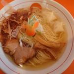 中華そば うさぎ - 「追い鰹チャーシューワンタン麺 700円」