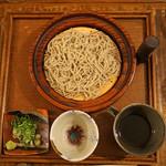 東白庵かりべ - せいろ蕎麦