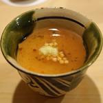 鮨 あらい - 梅の茶碗蒸し