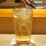 鮨 あらい - ウイスキーのダブルのハイボール