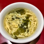 紅宝石 - ミニカレーライスにセットのスープ