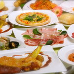 トラットリア オッジ - 料理写真:コース料理、宴会プラン、アラカルト、どのようなシュチュエーションにも対応致します。