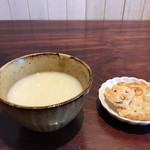 TAKAMIOKAKI - 振る舞い甘酒、麹の本格派、おかき付き(2018.1.4)