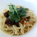 中国菜老四川 飄香 - 四川ピクルスとひき肉の和え麺