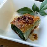 中国菜老四川 飄香 -  春菊の湯葉巻き