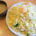 福満苑 - むきえびとレタスのチャーハン
