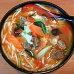 好辣鴨 - 番茄牛肉米线(トマトと牛肉米線)