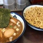 つけめん 玉 - 料理写真:特製つけ麺 中盛 あつもり (だし汁なし)