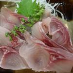 Kawachiya - 鯉あらい760円