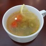 78913970 - フルーツスープはコンソメベース(セット)