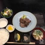 め茶く茶家 - 牛タン定食(1280円税込み)