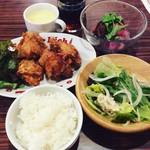 78915969 - ザンギ定食(¥700)