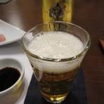 三宜楼茶寮 - エビスビール(中瓶) 702円(税込)
