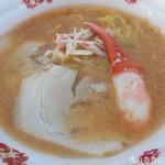 鬼そば 藤谷 - 北海道蟹味噌らぁ麺 ~贅沢な冬の季節~