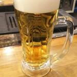 ○上水産 - 私の生ビール