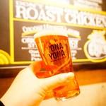 YONA YONA BEER WORKS - よなよなエールで乾杯(*≧∀≦*)写真はスモールサイズ