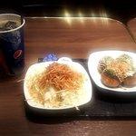 ギンダコバル - たこ焼サラダセット