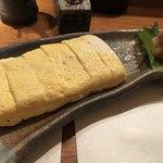 心斎橋かわぐち - 地鶏そぼろの出汁巻 650円