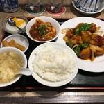 青山一品 - 酢豚定食