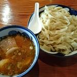 中華そば 青葉 - 特製つけめん大盛(太麺)1,050円