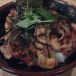 焼鳥のヒナタ - 炭火焼鳥丼 650円