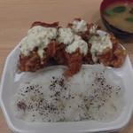 焼鳥のヒナタ - チキン南蛮弁当 680円