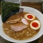玉五郎 - 【味玉煮干しらーめん】¥830