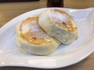 むさしの森珈琲 春日部店 - ふわっとろパンケーキ プレーン