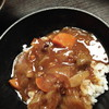 しちりん炭火焼 鉄人 - 料理写真:牛すじカレー