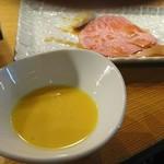 大阪屋 - 極上サーロインの焼きスキ