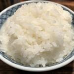 不二かつ - 白ご飯(おかわり自由)